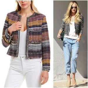 🎀NWT🎀 525 America Multi Color Tweed Jacket